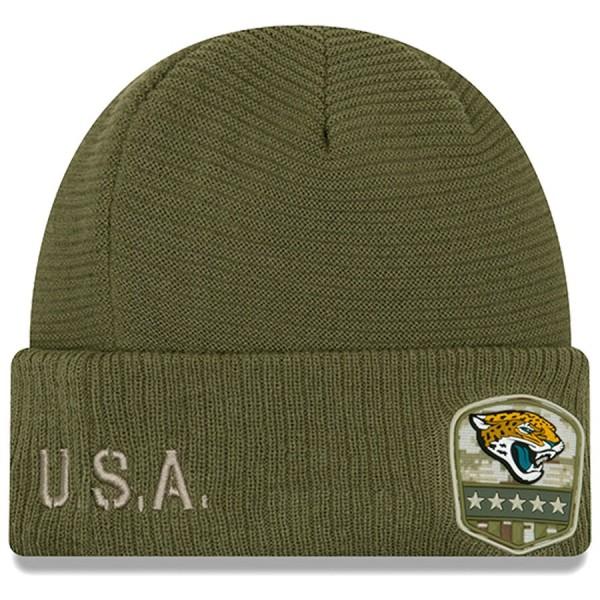 New Era OnField 19 STS Knit Hat Jacksonville Jaguars
