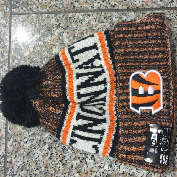 NFL Sideline Bobble Knit Cincinnati Bengals