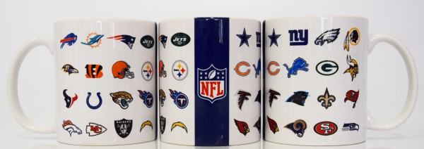 NFL All Logo Mug