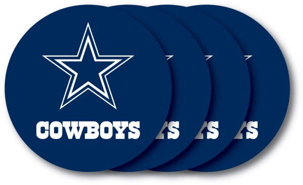 Dallas Cowboys Coaster Set 4-Pack
