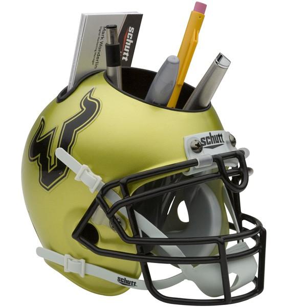Schutt Mini Helmet Desk Caddy South Florida Bulls