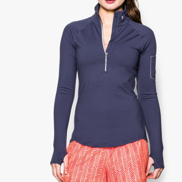 UA Fly Fast 1/2 Zip Faded Ink - SALE