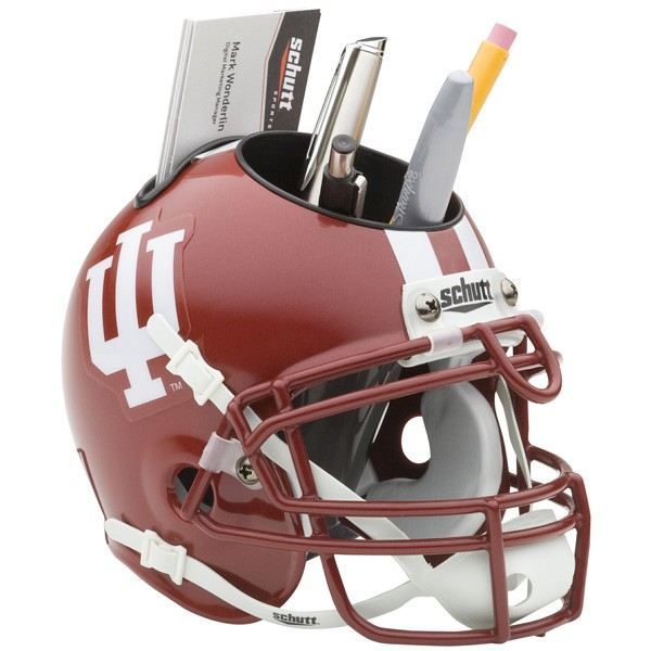 Schutt Mini Helmet Desk Caddy Indiana Hossiers