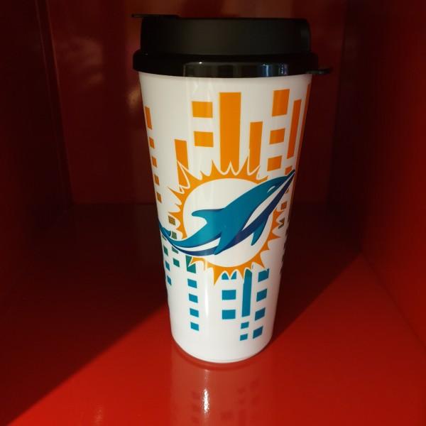 NFL Tumbler 32OZ Snap Tite Miami Dolphins