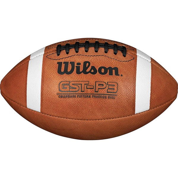 Wilson GST Leather PRACTICE Football