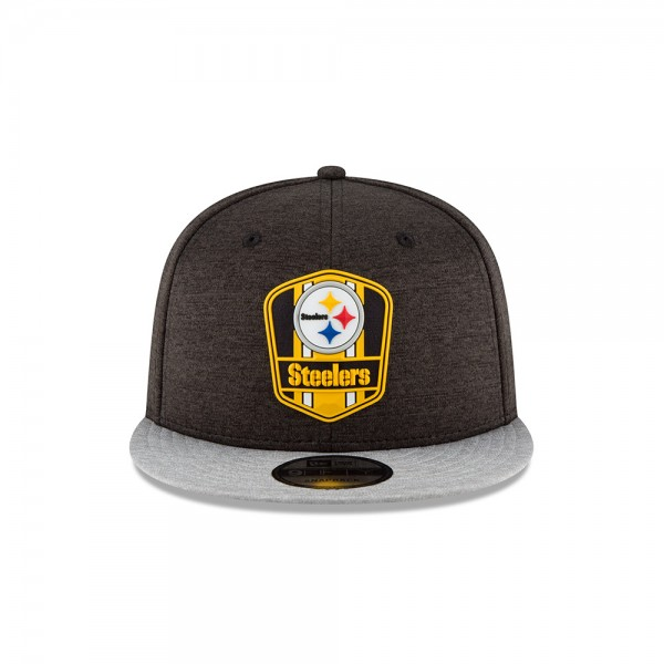 NFL Sideline 9Fifty Snapback Cap Pittsburgh Steelers AWAY