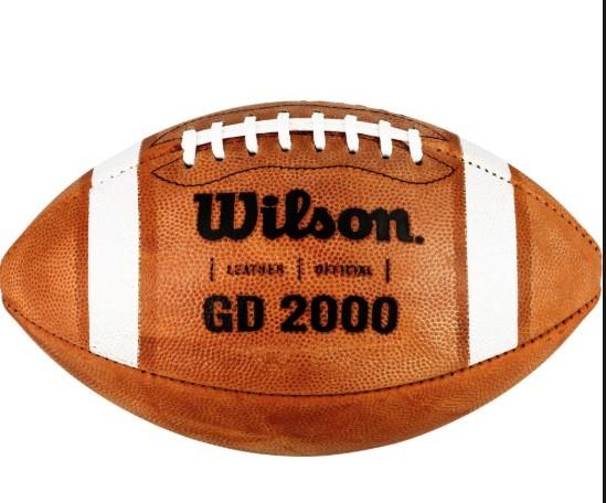 Wilson GD 2000 Leather Football