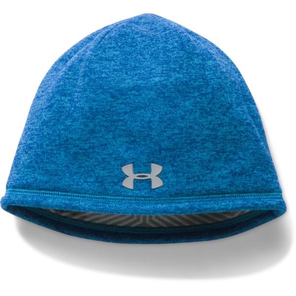 UA Men's ColdGear Infrared Elements Storm 2.0 Beanie Brilliant Blue (787)
