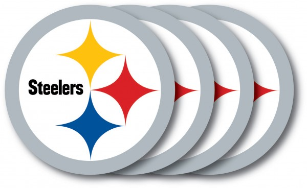 Pittsburgh Steelers Coaster Set 4-Pack
