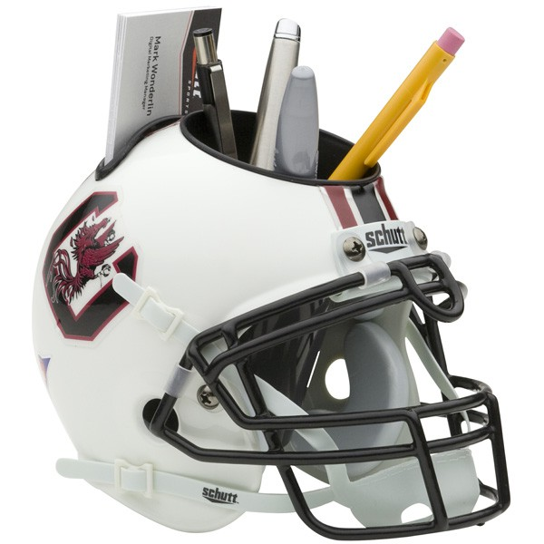 Schutt Mini Helmet Desk Caddy South Carolina Gamecocks