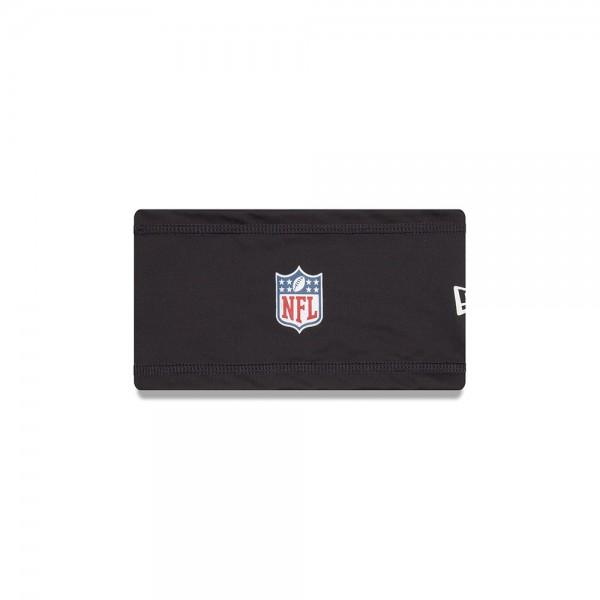 New Era NFL Headband with NFL Logo Black