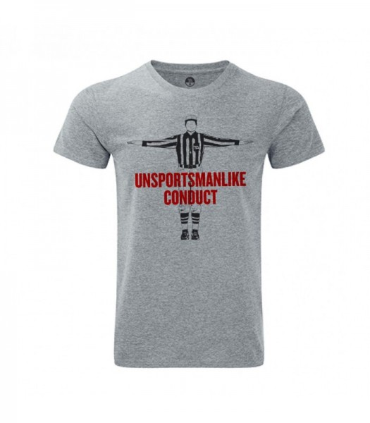 Unsportsmanlike Conduct Tee Grey