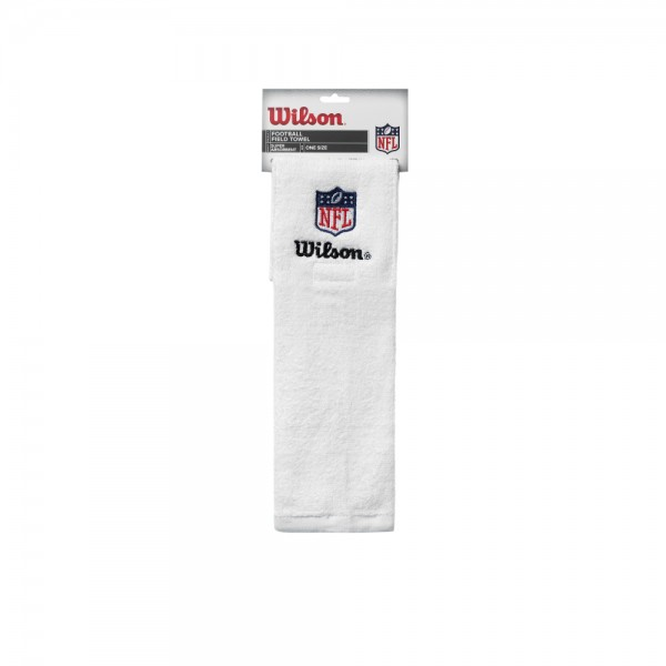 Wilson Field NFL Towel White