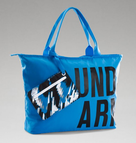 UA Big Wordmark Tote Jazz Blue