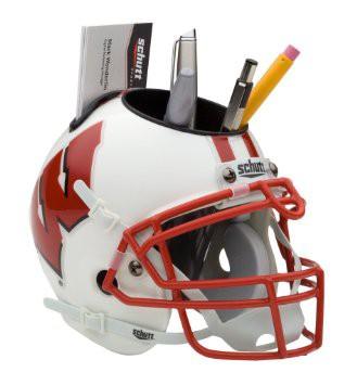 Schutt Mini Helmet Desk Caddy Wisconsin Badgers