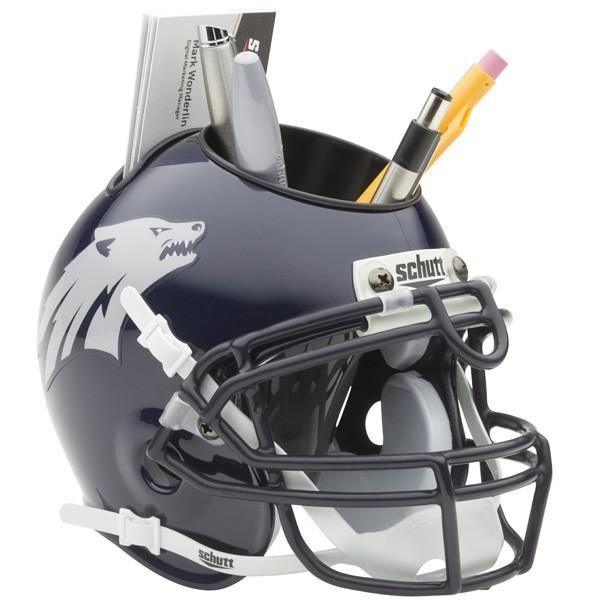 Schutt Mini Helmet Desk Caddy Nevada Wolfpack