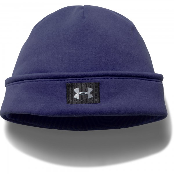 UA Women's Storm ColdGear Infrared Fleece Beanie Europa Purple