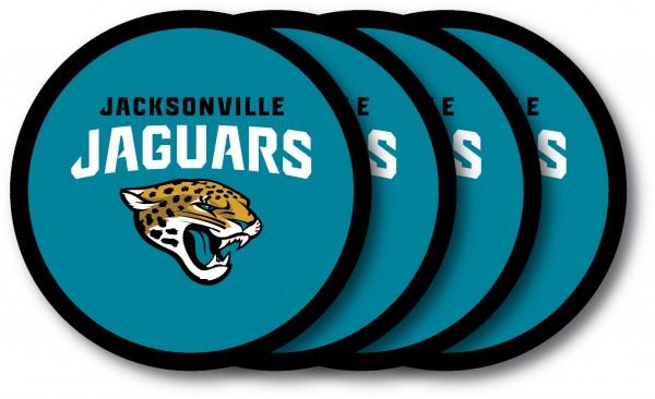 Jacksonville Jaguars Coaster Set 4-Pack