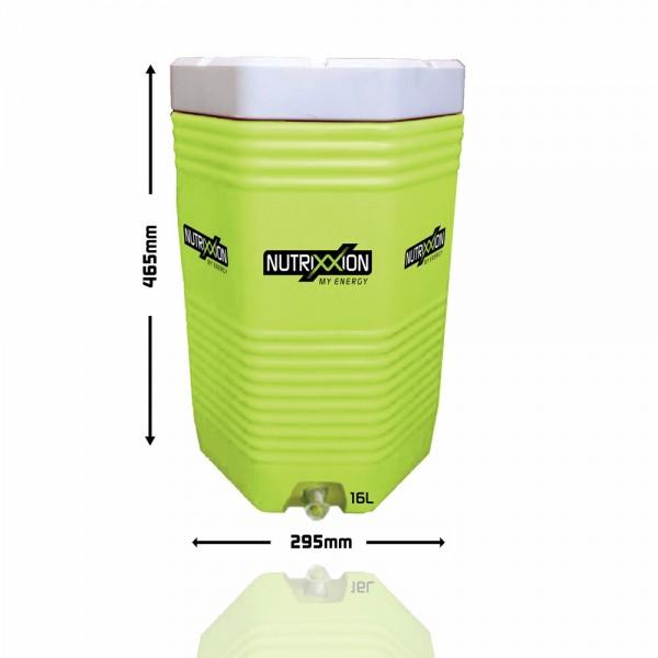 Cooler 16 Liter Special SET inkl. 6 Flaschen und 1 Gratis Endurance Pulver 750g Lemon