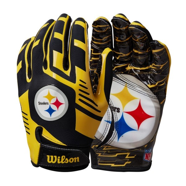 NFL Youth WR Gloves - P. Steelers