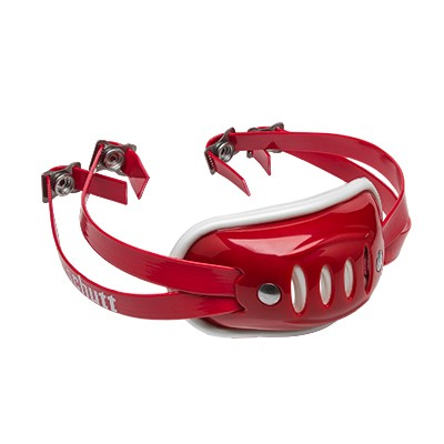 SC 4 Hard Cup Chinstrap Red Medium