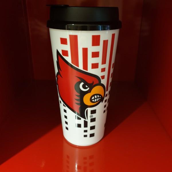 NFL Tumbler 32OZ Snap Tite Louisville Cardinals