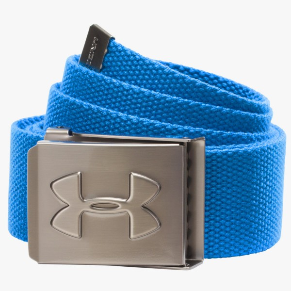 UA Webbing Belt Pacific Blue