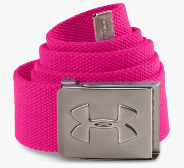 """UA Webbing Belt Pink - SALE """"Online only"""""""