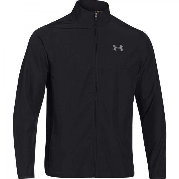 UA Men's Vital Woven Warm-Up Jacket Black (001)