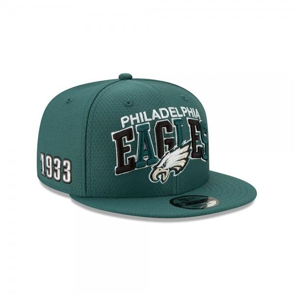 NFL 2019 Sideline 9Fifty Snapback Cap OSFM Home Philadelphia Eagles
