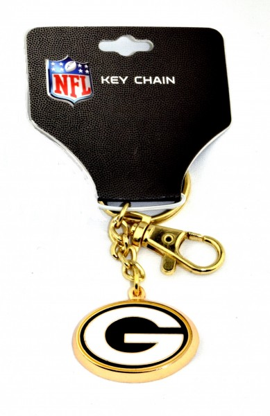 GREENBAY PACKERS ZAMAC KEYCHAIN