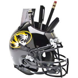 Schutt Mini Helmet Desk Caddy Missouri Tigers