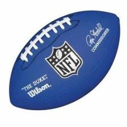Mini NFL Football WTF1631 Blue