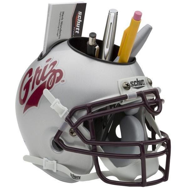 Schutt Mini Helmet Desk Caddy Montana Grizzlies