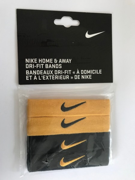 Nike Home&Away Dri Fit Bands Gold