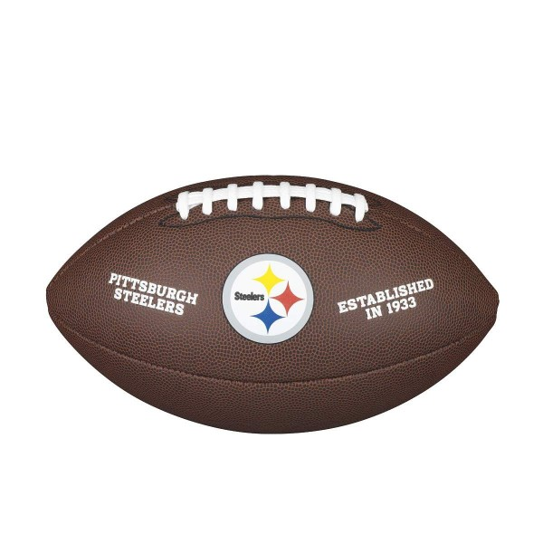 Wilson NFL Licensed Ball Pittsburgh Steelers F1748