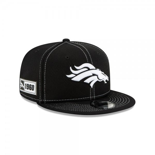 NFL 2019 Sideline 9Fifty Snapback Cap OSFM Away Denver Broncos