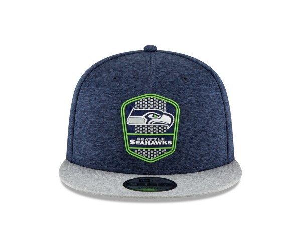 NFL Sideline 9Fifty Snapback Cap Seattle Seahawks AWAY