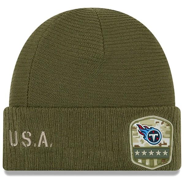 New Era OnField 19 STS Knit Hat Tennessee Titans