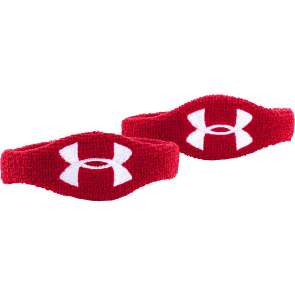 Under Armour 1/2 Inch Wristband RED