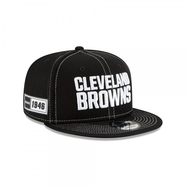 NFL 2019 Sideline 9Fifty Snapback Cap OSFM Away Cleveland Browns