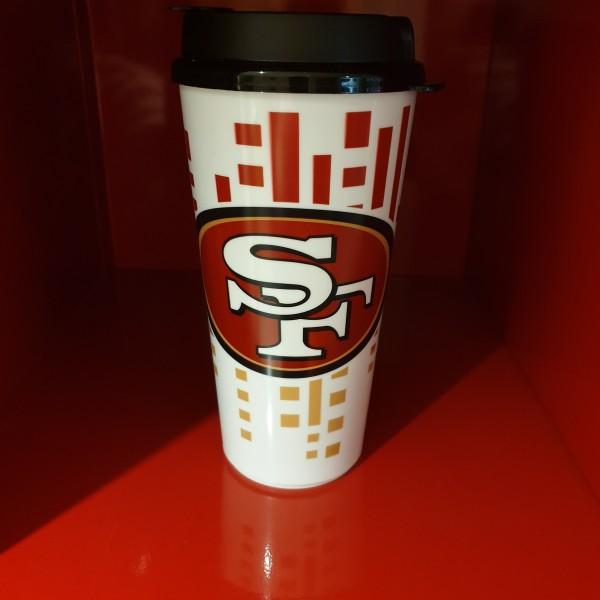 NFL Tumbler 32OZ Snap Tite San Francisco 49ers