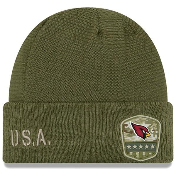 New Era OnField 19 STS Knit Hat Arizona Cardinals