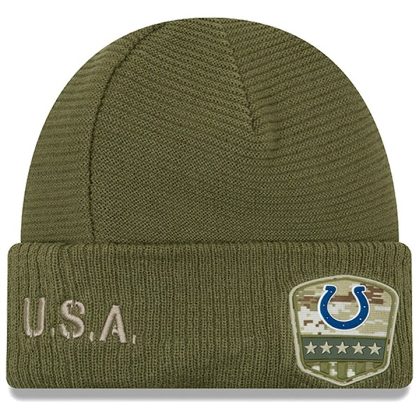 New Era OnField 19 STS Knit Hat Indian. Colts