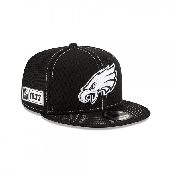 NFL 2019 Sideline 9Fifty Snapback Cap OSFM Away Philadelphia Eagles