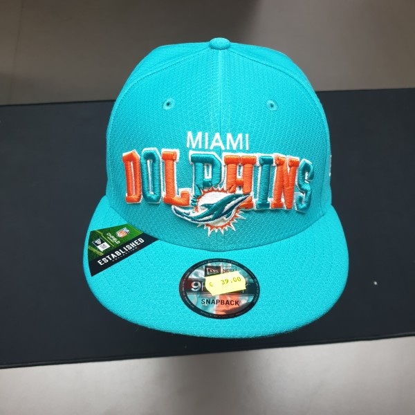 NFL 2019 Sideline 9Fifty Snapback Cap OSFM Home Miami Dolphins