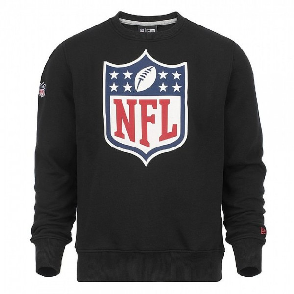 New Era NFL Shield Crewneck Sweatshirt Black