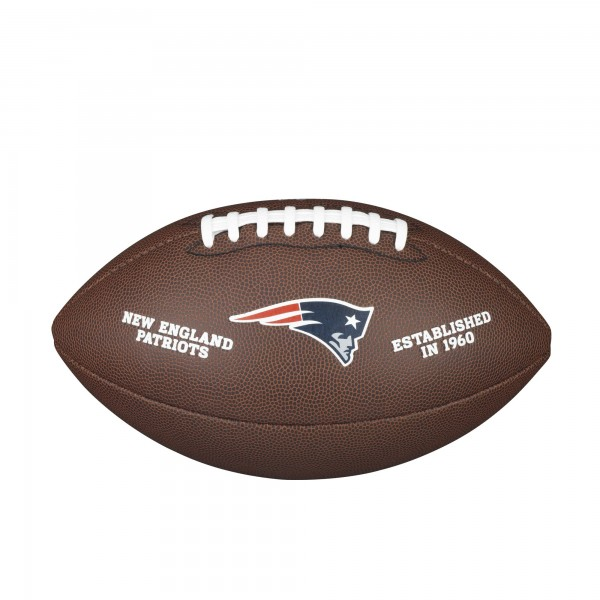 Wilson NFL Licensed Ball NE Patriots F1748