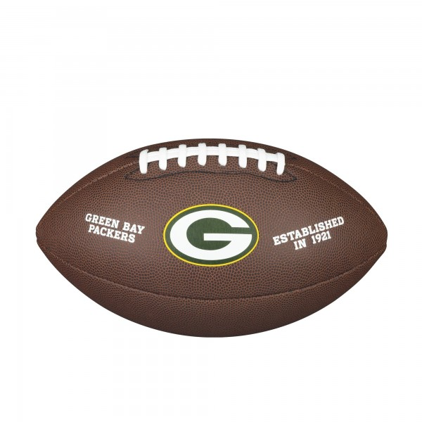 Wilson NFL Licensed Ball Green Bay Packers F1748