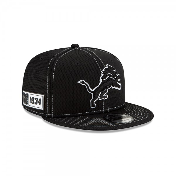 NFL 2019 Sideline 9Fifty Snapback Cap OSFM Away Detroit Lions